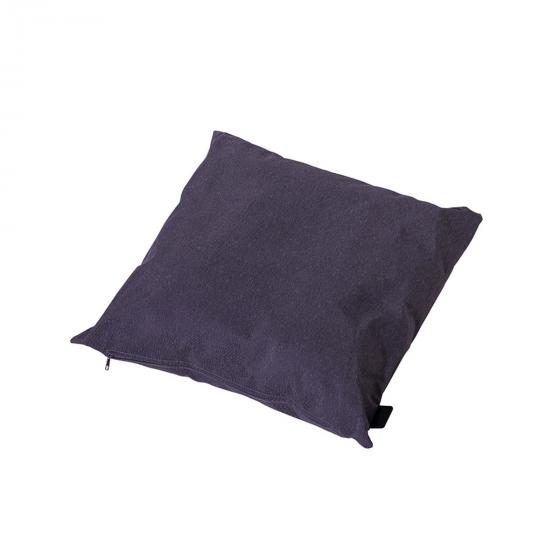 Stuhlauflage Panama, 45 cm x 45 cm, grau