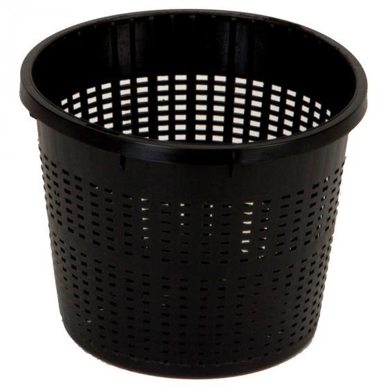 Teichpflanzkorb, 12x22x22 cm, schwarz