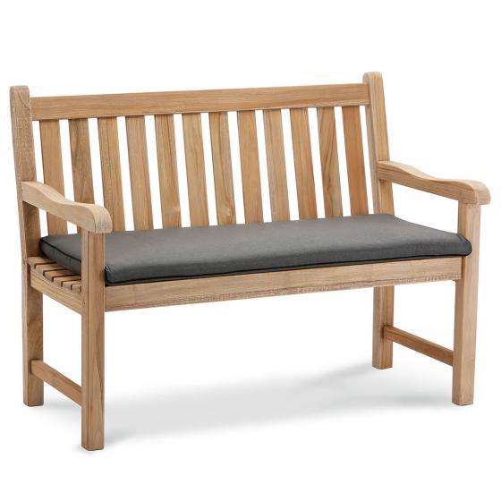 Bankauflage Summer, 2-Sitzer, 6x52x112 cm, grau