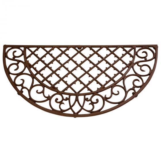 Esschert Design Fußmatte Marlen, 1,9x68x35 cm, Gusseisen, braun