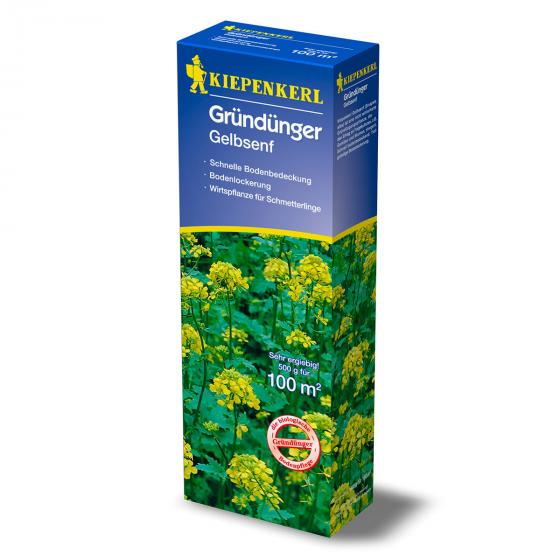Kiepenkerl Bodenkur Gelbsenf, 500 g