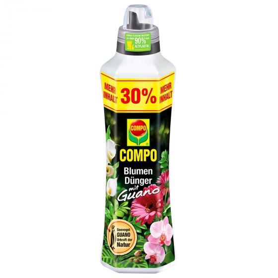 Blumen Dünger mit Guano, 1,3 Liter