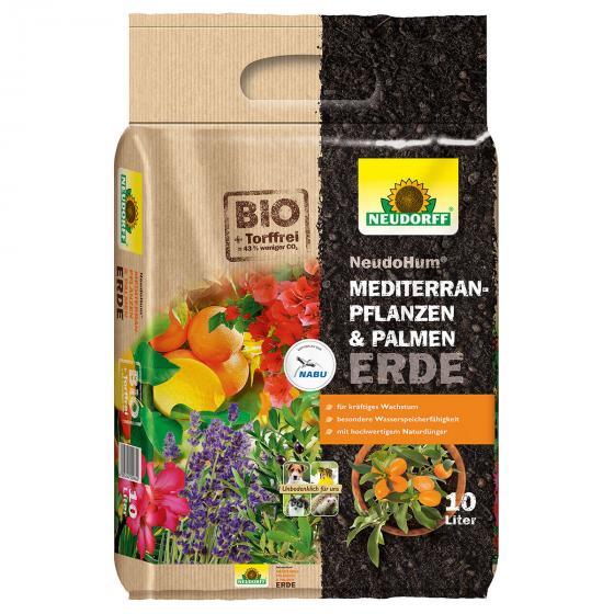 Neudorff NeudoHum® Mediterranpflanzen- und Palmenerde, 10 Liter