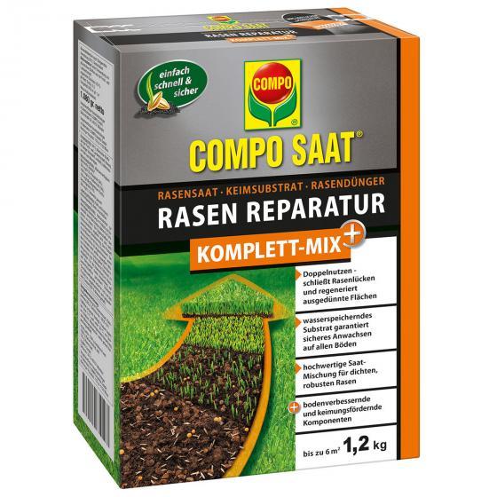 Compo SAAT®  Rasen-Reparatur Komplett-Mix + , 1,2 kg