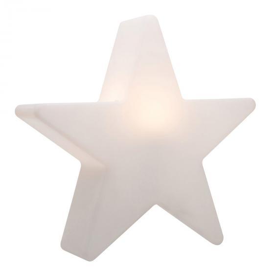 LED Shining Star, 71x74x16 cm, Polyethylen, weiß