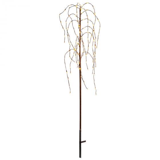 Star LED-Baum Winterweide, 150x50x50 cm, Metall und Kunststoff, braun