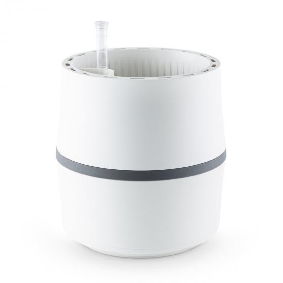 airy System Pflanzkübel S weiß, H 22,8 cm Ø 21,6 cm