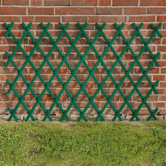Rankspalier Kunststoff, 80 x 180 cm, grün