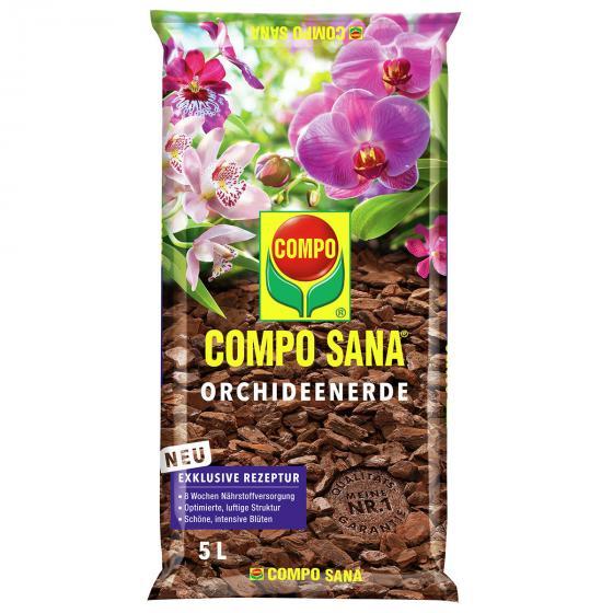 Compo Sana® Orchideenerde, 5 Liter