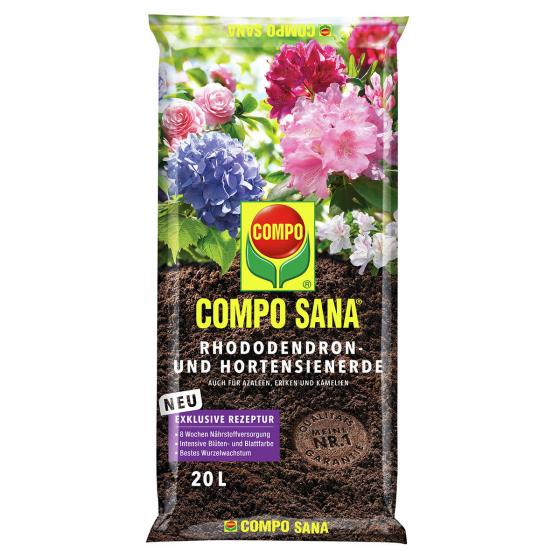 Compo Sana® Rhododendron- und Hortensienerde, 20 Liter