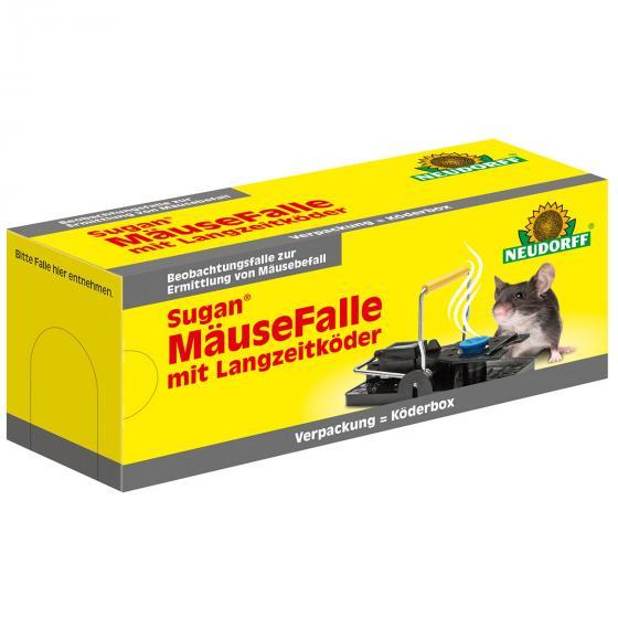 Neudorff Sugan® Mäusebox mit Langzeitköder
