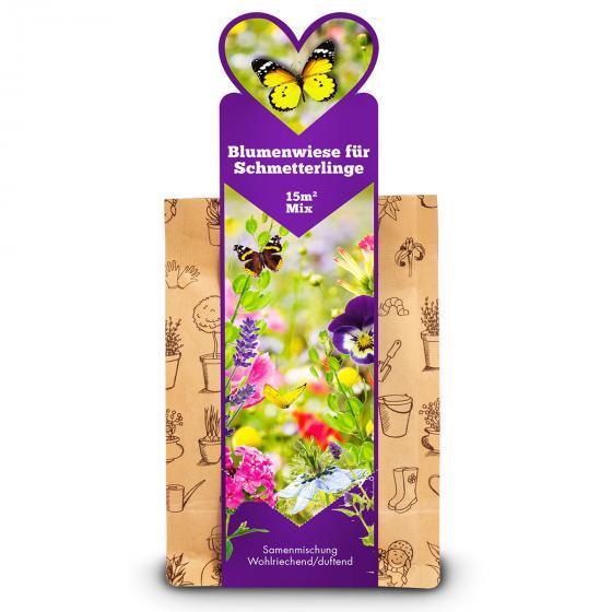 Blumenwiese für Schmetterlinge, wohlriechend, 15 m²
