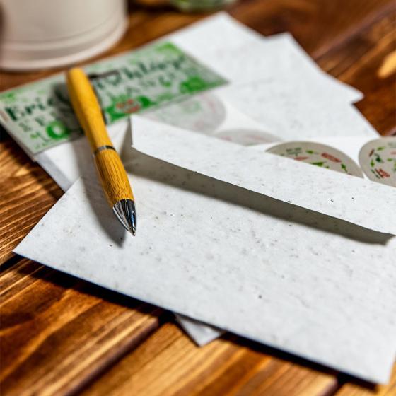 Saatgut Briefumschläge - Blumenmischung - 3 Stück