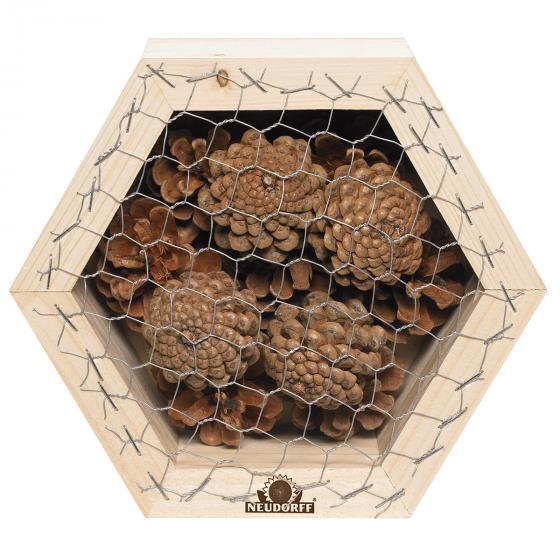Insektenwabe für Marienkäfer und Florfliegen