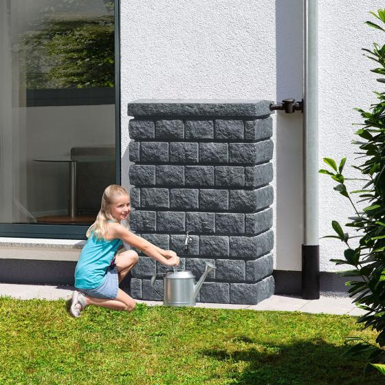 Rocky junior Wandtank 400 Liter, dark granite