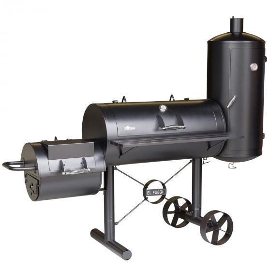 Holzkohlegrill Smoker Kiona