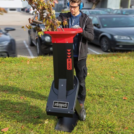 Elektro-Gartenhäcksler Biostar3000 400 V