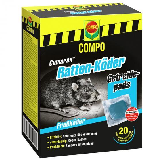 Ratten-Köder Cumarax®, 200g