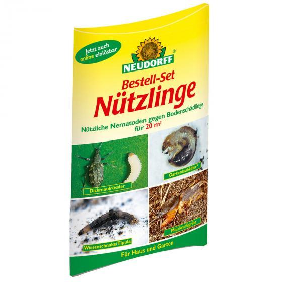 Bestell-Set Nüzlinge gegen Bodenschädlinge