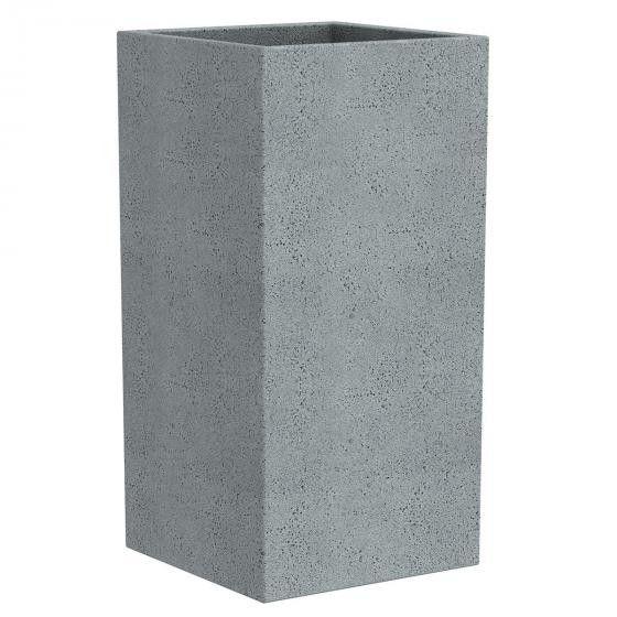 Pflanzkübel High Cube, 38x38x54 cm, Stony Grey