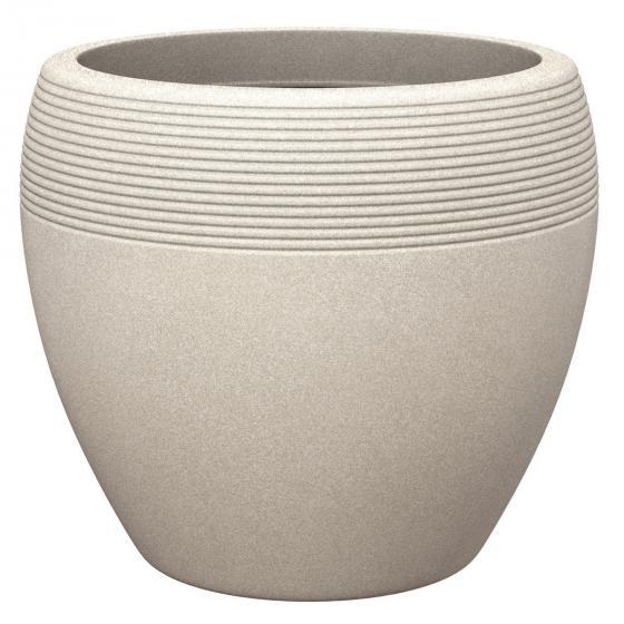 Pflanzkübel Lineo, 48 cm, Sand