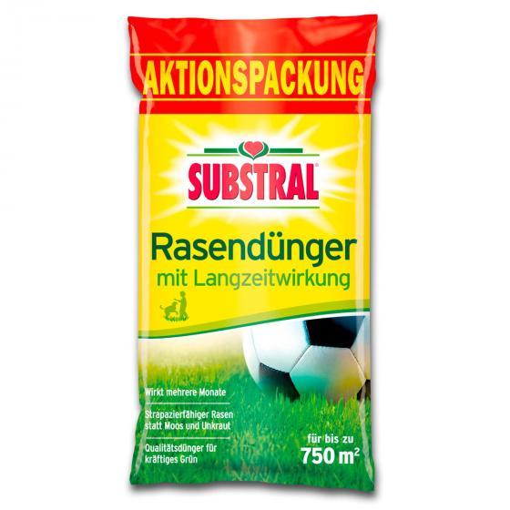 Rasendünger mit Langzeitwirkung für 750 qm, 15 kg