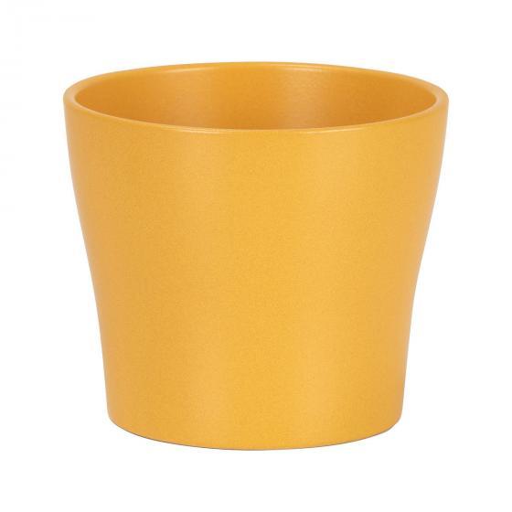 Übertopf Curcuma, 13 cm, Gelb