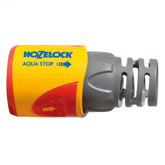 Schlauchkupplung mit Aquastop, 15 & 19mm
