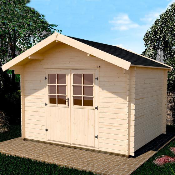 Gartenhaus 209 Gr.2,5, 300x250 cm