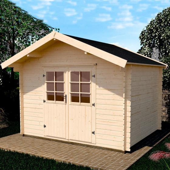 Gartenhaus 209 Gr.3, 300x300 cm