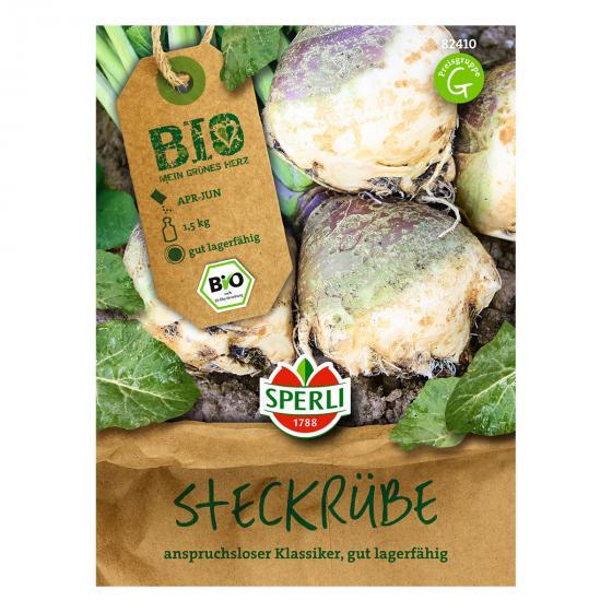 BIO Steckrübensamen Gelbe aus Friesland (Friese Gele)