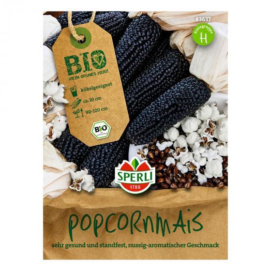 BIO Popcornmaissamen Negro Cine