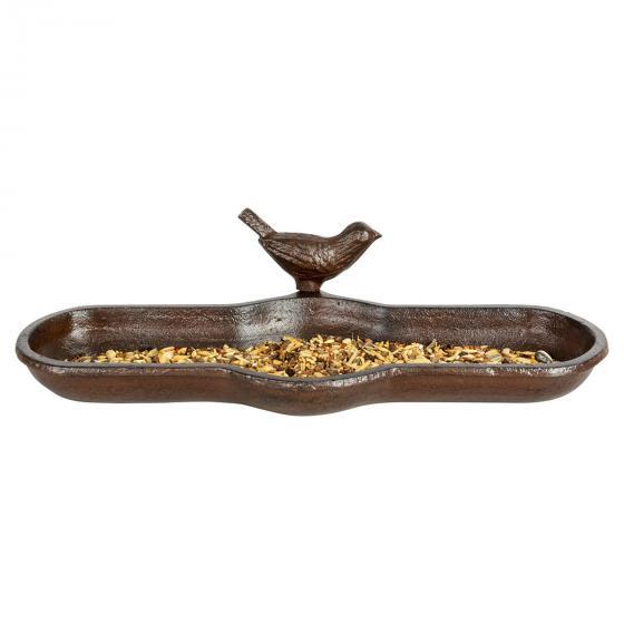 Vogeltränke Piepmatz, Gusseisen, ca. 29 cm