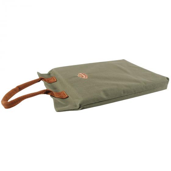 Kniekissen Komfort, mit Lederschlaufe, ca. 40x26 cm