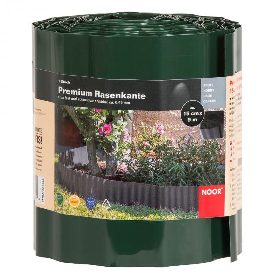 Premium Rasenkante grün