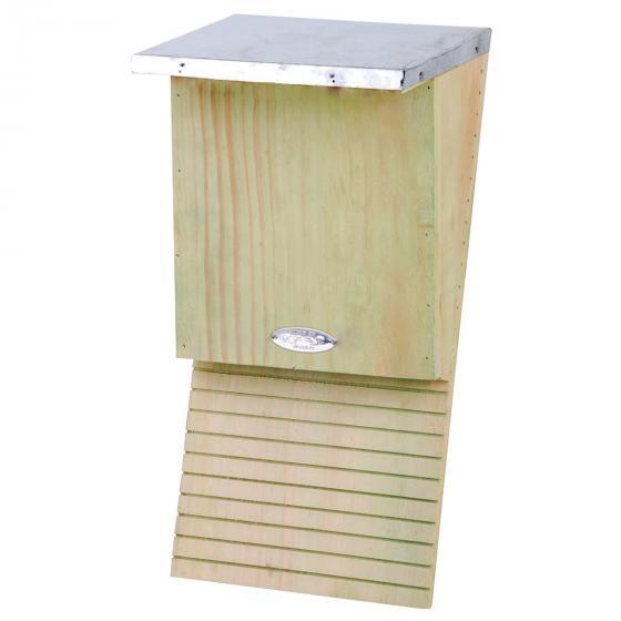 Fledermauskasten mit Zinkblechdach, ca. 16 x 18 x 40 cm