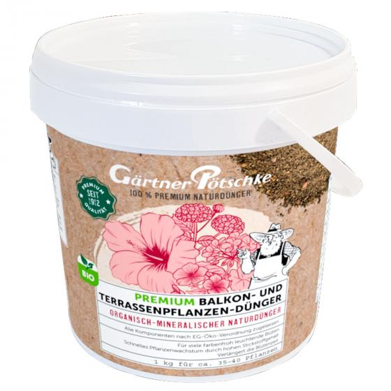 Premium Balkon- und Terrassenpflanzen-Dünger, 1 kg