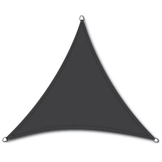 Sonnensegel Solino 3,6 x 3,6 x 3,6 m, grau