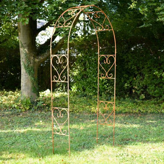 Rosenbogen rund, 230 x 120 cm