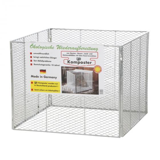 Kompostsilo, 80x80x70 cm, Feuerverzinkt