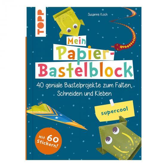 Papier-Bastelblock - supercool