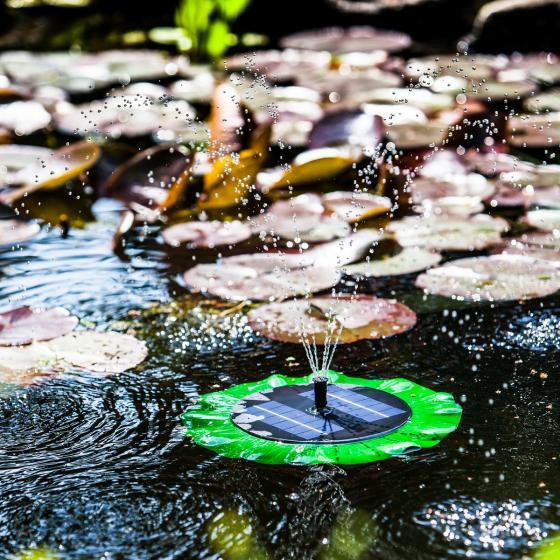 Solar-Teichpumpen-Set ca.150 l/h, schwimmend