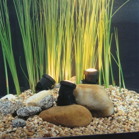 Aqua Light LED, 3er-Set Unterwasserspot mit Trafo
