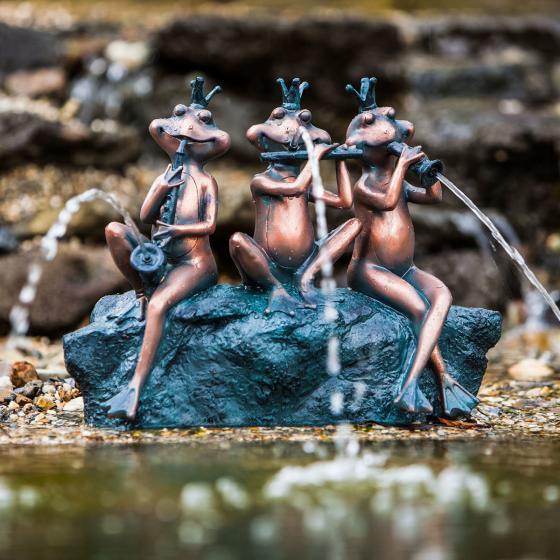 Wasserspiel Frosch-Kapelle