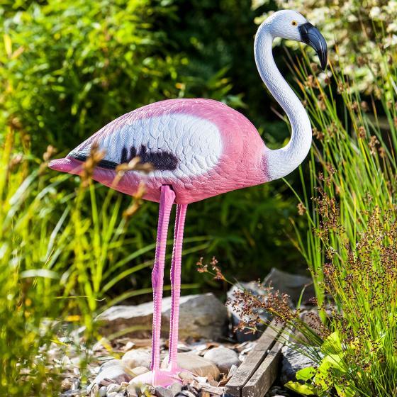 Teichfigur Flamingo