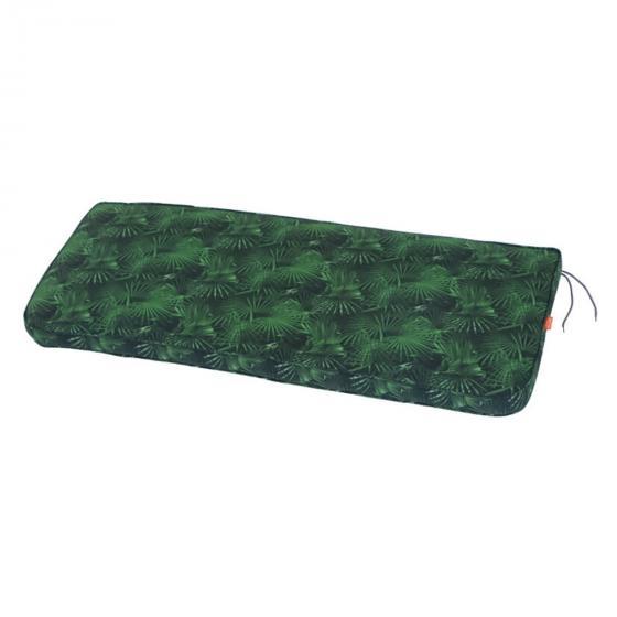 Auflage Tarent Gartenbänke, 110 cm, grüne Palme