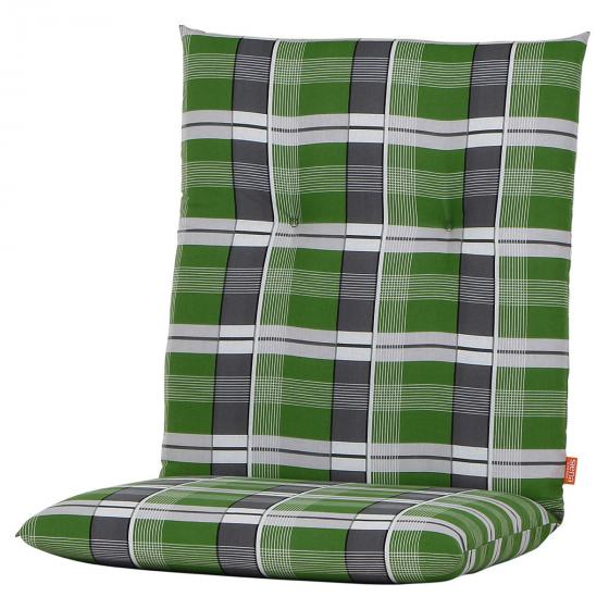 Sessel-Auflage Gabi, karo grün