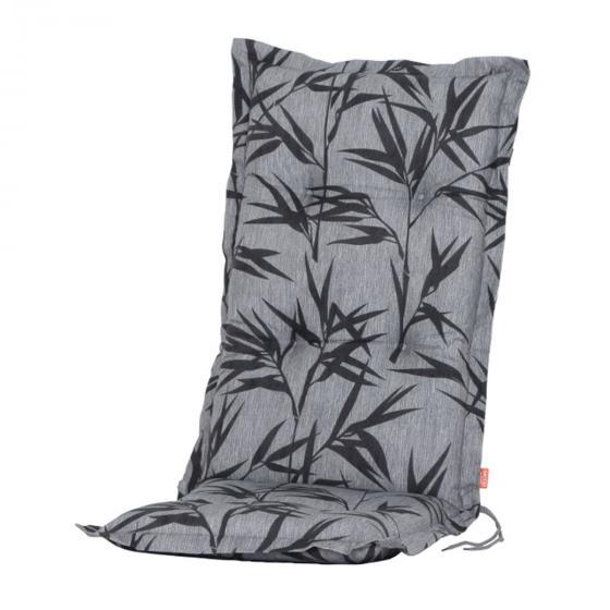 Hochlehner-Auflage Bambus, grau