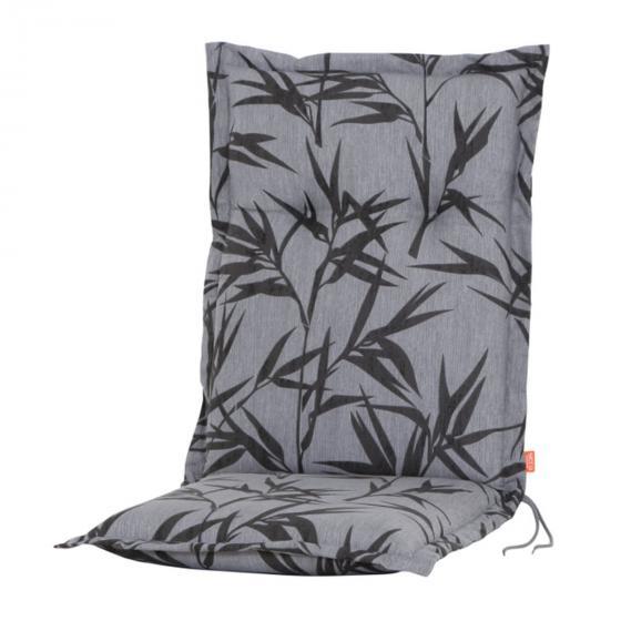 Gartenstuhl-Auflage Bambus, grau