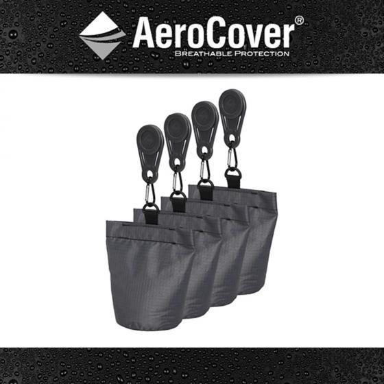 4 Sandsäcke für Schutzhüllen
